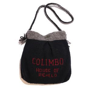 COLIMBO/コリンボ HIGH LANDER KNIT TURRON POUCH ブラック|morleyclothing
