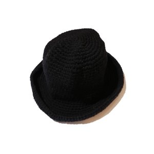 COLIMBO/コリンボ HIGH LANDER KNIT APU MOUBTAIN HAT ブラック|morleyclothing