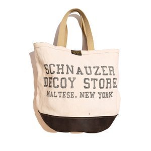 COLIMBO/コリンボ TRAPPER'S BARREL TOTE SCHNAUZER DECOY SHOP|morleyclothing