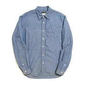 COLIMBO/コリンボ WILLWBROOK L/S SHIRT BLUE CHAMBRAY|morleyclothing