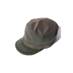 COLIMBO/コリンボ TOULOUSE FAUST CAP ARMY GREEN|morleyclothing