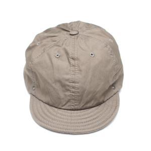 DECHO/デコー BALL CAP VENTILE ボールキャップ ベージュ|morleyclothing