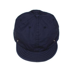 DECHO/デコー BALL CAP VENTILE ボールキャップ ネイビー|morleyclothing