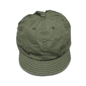 DECHO/デコー BALL CAP VENTILE ボールキャップ オリーブ|morleyclothing