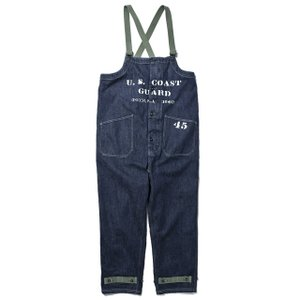 COLIMBO/コリンボ OLD MIDSHIPMEN'S BIB OVERALL DENIM(カスタム)|morleyclothing