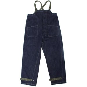 COLIMBO/コリンボ OLD MIDSHIPMEN'S BIB OVERALL 12oz DENIM PLANE|morleyclothing