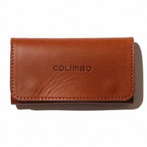 COLIMBO/コリンボ SARATOGA SPRINGS KEY CASE BROWN|morleyclothing
