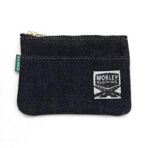 【別注】GRAPH ZERO×MORLEY CLOTHING denim coin purse 右綾|morleyclothing