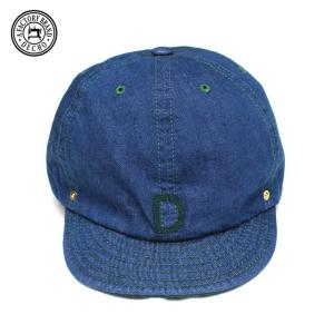 DECHO/デコ BALL CAP DENIM BLUE ブルー|morleyclothing
