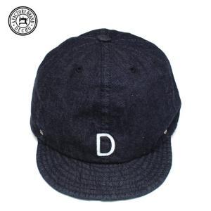 DECHO/デコ  BALL CAP DENIM INDIGO インディゴ|morleyclothing