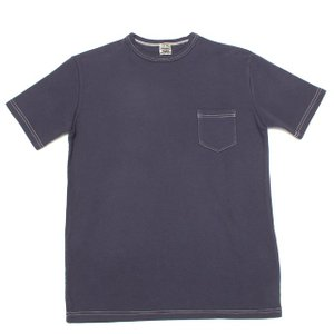 MORLEY CLOTHING/モーリークロージング POCKET T-SHIRT ネイビー|morleyclothing