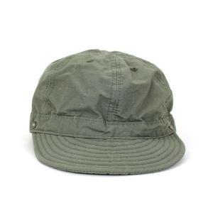 DECHO/デコーSHALLOW KOME CAP シャローコメキャップ カーキ|morleyclothing