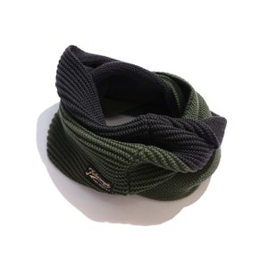 COLIMBO/コリンボ SHOOTING NECKER(REGULAR)スヌードネックウェア BRW×GRN|morleyclothing