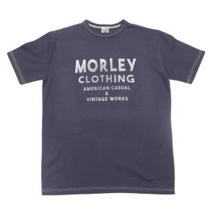 MORLEY CLOTHING/モーリークロージング 2018T-SHIRT ネイビー|morleyclothing