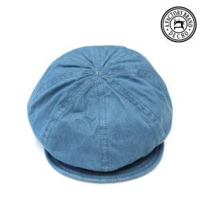 DECHO/デコ BIKERS CAP バイカーズキャップ ブルー|morleyclothing