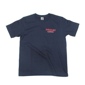 MORLEY CLOTHING/モーリークロージング LOGO T-SHIRT ネイビー|morleyclothing