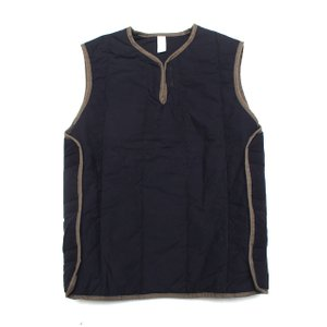COLIMBO/コリンボ LOUISVILLE SUBMARINER VEST プレーン Navy Blue|morleyclothing