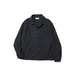 【先行ご予約商品】COLIMBO/コリンボ Perryville General Shirt DULL BLACK|morleyclothing