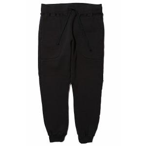 【先行ご予約商品】COLIMBO/コリンボ Rotc Shack Sweat Pants Plain Black|morleyclothing