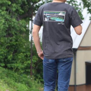別注 free rage/フリーレイジ モーリークロージングTシャツ スミクロ(バックプリント)|morleyclothing