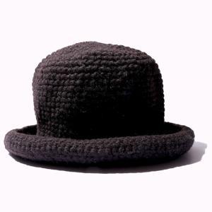 COLIMBO/コリンボ HIGH LANDER KNIT APU MOUBTAIN HAT NATURAL BLACK morleyclothing