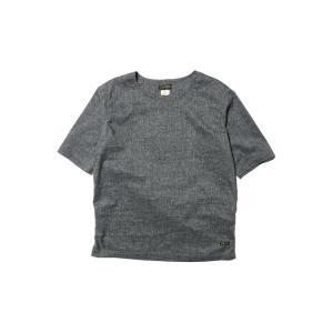 COLIMBO/コリンボ MILES MASTER SOLOTEX-TEE Kasuri Gray|morleyclothing