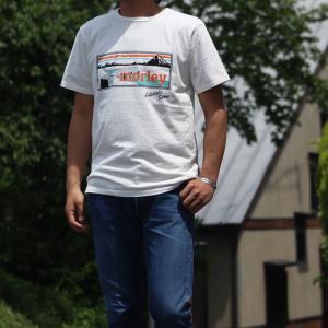 別注 free rage/フリーレイジ モーリークロージングTシャツ ホワイト(フロントプリント)|morleyclothing