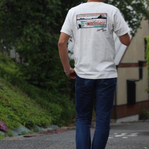 別注 free rage/フリーレイジ モーリークロージングTシャツ ホワイト(バックプリント)|morleyclothing