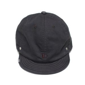 DECHO/デコ LOGO BALL CAP ロゴボールキャップ チャコール morleyclothing