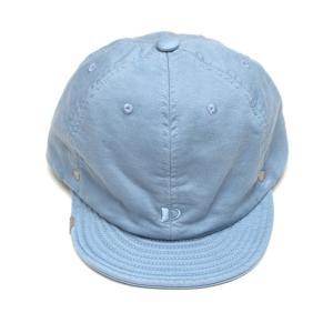 セール【20%OFF】DECHO/デコ LOGO BALL CAP ロゴボールキャップ ブルー|morleyclothing