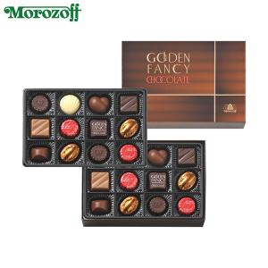 モロゾフ ゴールデンファンシーチョコレート 24個入(2段詰)│バレンタイン2017