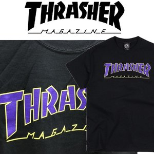 THRASHER OUTLINED SS TEE スラッシャー Tシャツ|moshpunx