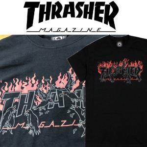 THRASHER CROWS SS TEE スラッシャー Tシャツ|moshpunx