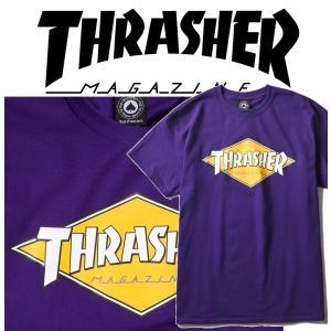 THRASHER DIAMOND LOGO S/S スラッシャー Tシャツ|moshpunx