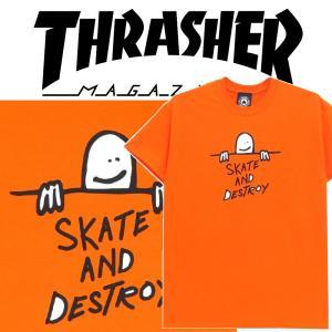 THRASHER GONZ SAD LOGO S/S スラッシャー Tシャツ|moshpunx