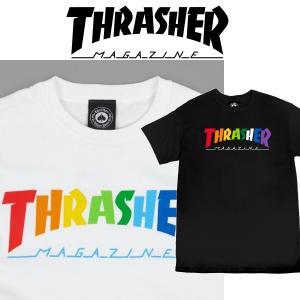 THRASHER RAINBOW MAG S/S スラッシャー Tシャツ|moshpunx