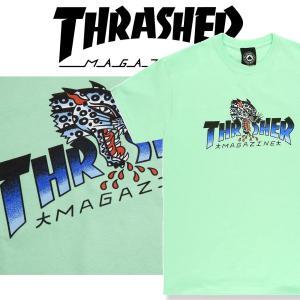 THRASHER LEOPARD MAG S/S スラッシャー Tシャツ|moshpunx