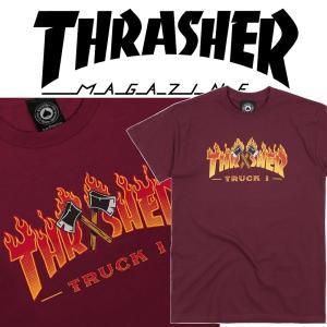 THRASHER TRUCK 1 S/S スラッシャー Tシャツ|moshpunx