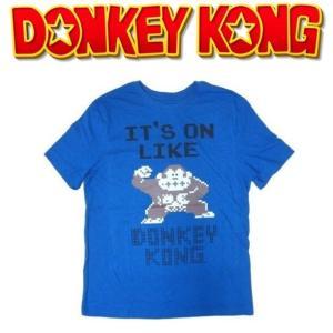 ドンキーコング IT'S ON LIKE DONKEY KONG 8bit Tシャツ|moshpunx