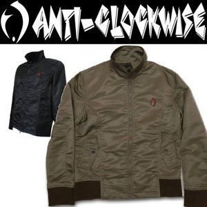 ANTI-CLOCKWISE アンチクロックワイズ MA1 Harrington Jacket ジャケット|moshpunx