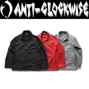 ANTI-CLOCKWISE アンチクロックワイズ Coach Jacket コーチジャケット|moshpunx