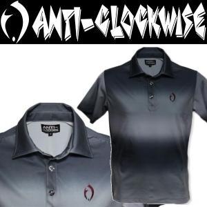 ANTI-CLOCKWISE Gradation Polo アンチクロックワイズ ポロシャツ|moshpunx