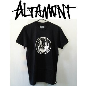 ALTAMONT CONTRAST STACKED TEE アルタモント Tシャツ|moshpunx