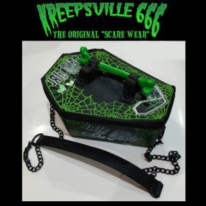 KREEPSVILLE666 DEADGIRL COFFIN BAG クリープスヴィル666 バッグ|moshpunx