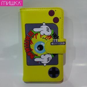 MISHKA SMILY KEEP WATCH SMART PHONE CASE ミシカ スマホケース 手帳|moshpunx