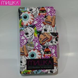 MISHKA LOGO COLLAGE SMART PHONE CASE ミシカ スマホケース 手帳|moshpunx