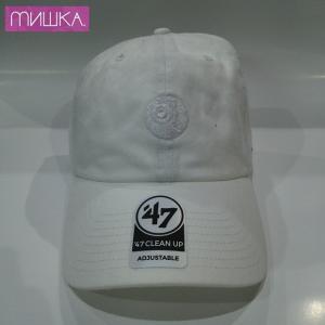 MISHKA x '47:  TONAL KEEP WATCH CLEAN UP ミシカ キャップ WHITE|moshpunx