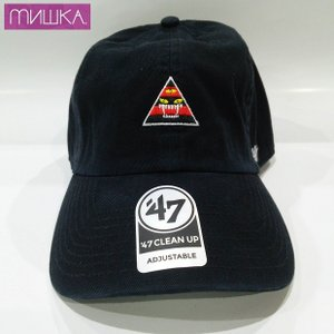 MISHKA x '47:  KILL WITH POWER CLEAN UP ミシカ キャップ BLACK|moshpunx