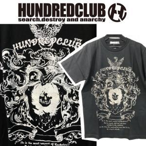 HUNDREDCLUB Tシャツ ハンドレッドクラブ HELLCATPUNKS ヘルキャットパンクス|moshpunx