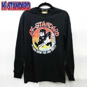 Hi-STANDARD NINJA L/S TEE ハイスタンダード ロングTシャツ 忍者|moshpunx